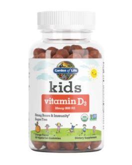 Garden of Life Kids Vitamin D3 Gummies