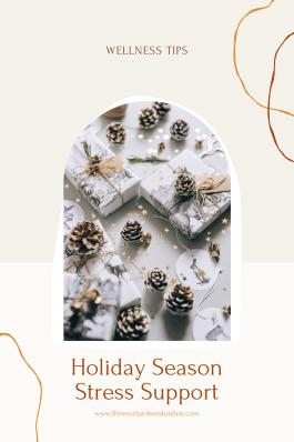 holiday season stress blog image