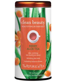 Clean Beauty Berry Aloe Tea – The Republic of Tea