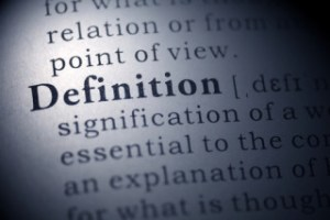 defining words used in law