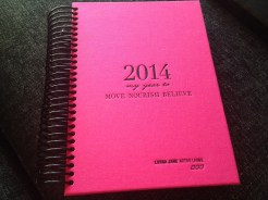 Get your 2014 Move Nourish Believe Diary today!