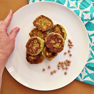 Chickpea, Carrot & Turmeric Patties
