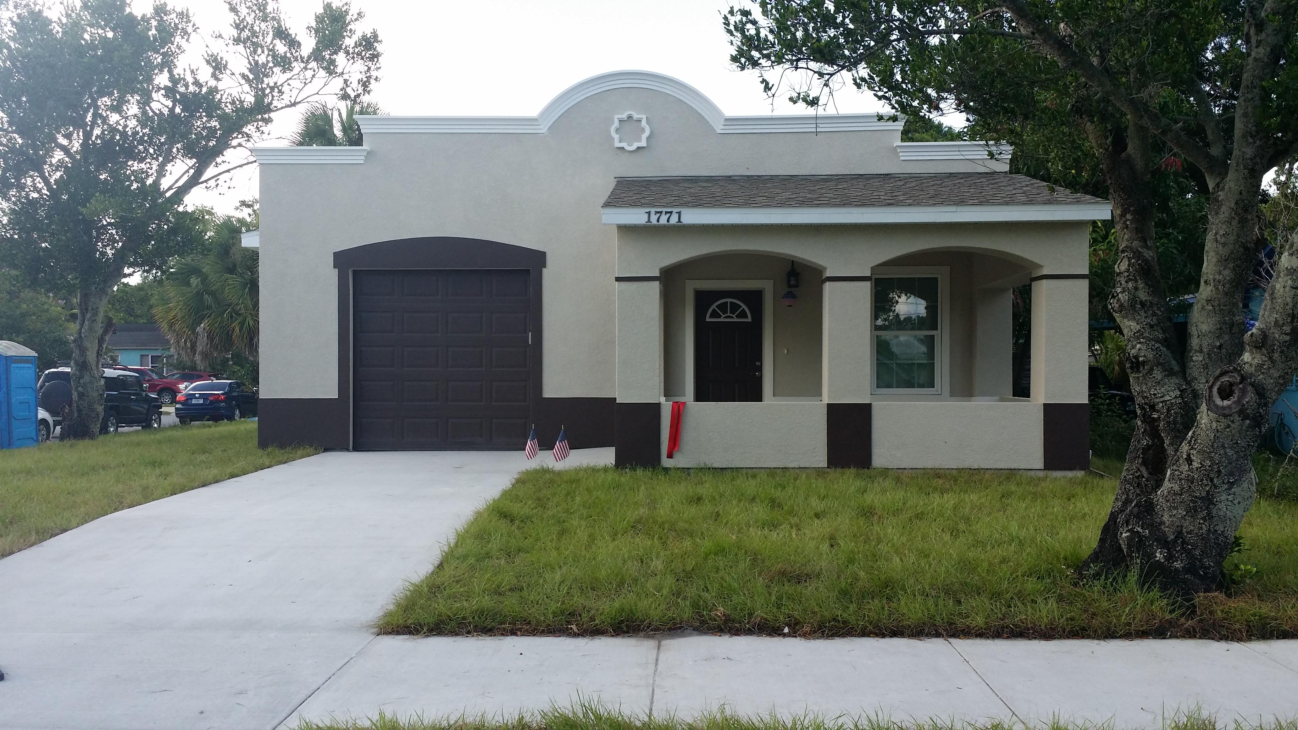 SPC Peterson Home Dedication