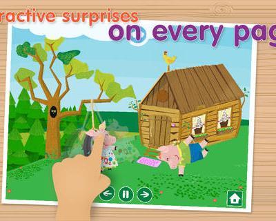 Kids Academy – The Three Little Pigs App