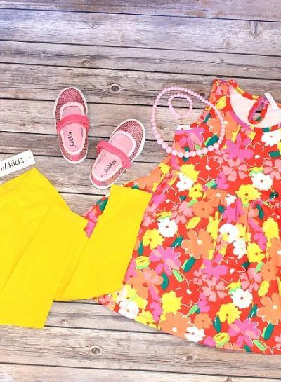 Summer Vacation Kids Outfit Idea | #FabItForward