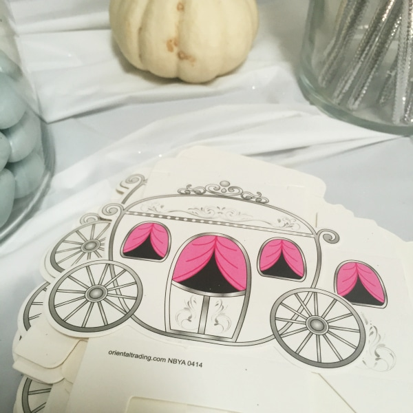 pumpkin carriage treat boxes from oriental trading