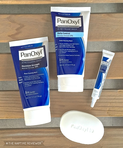 Break The Acne Cycle with PanOxyl • The Naptime Reviewer