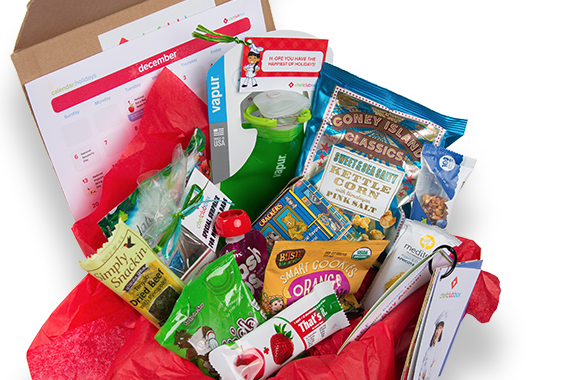 Chef Club Box - subscription box for kids with healthy snacks