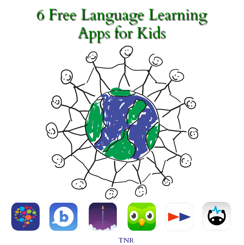 6 Free Language Learning Apps for Kids