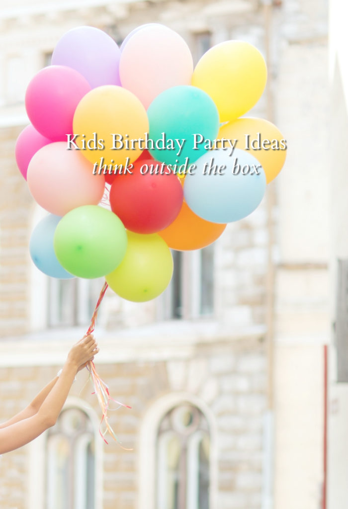 Kids Birthday Party Ideas- Experiences vs. At-Home Parties