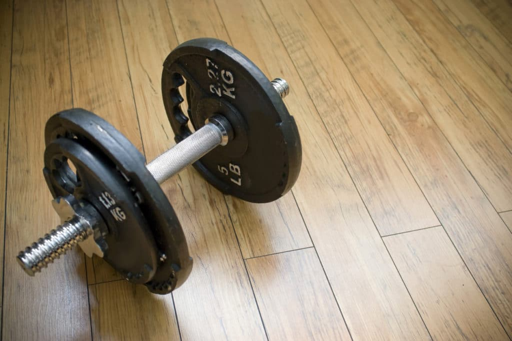 home gym - weights