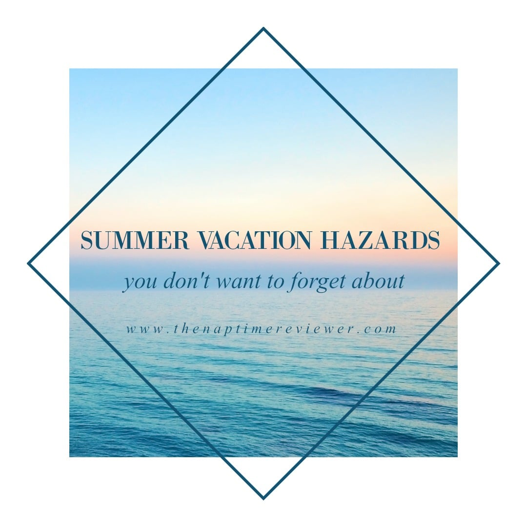 summer vacation dangers graphic