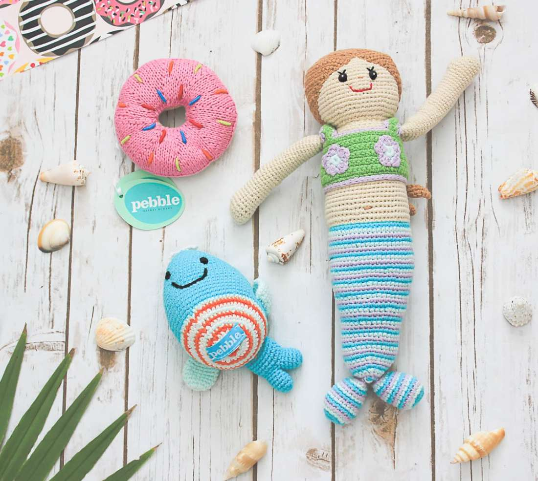 Ocean Themed Baby Toys - Gift Idea for Baby Showers