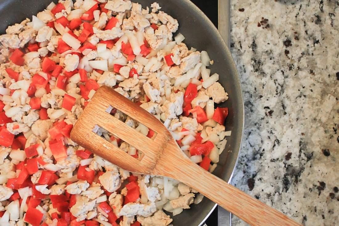Southwestern Stuffed Acorn Squash Recipe - Ground Turkey