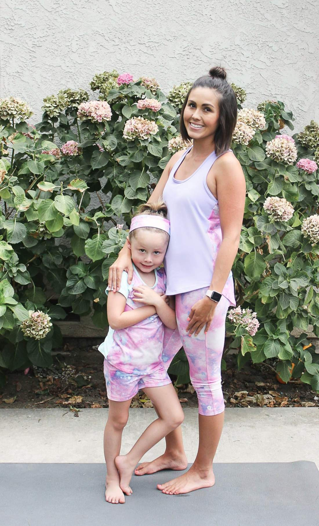 Mommy and Me workout clothes