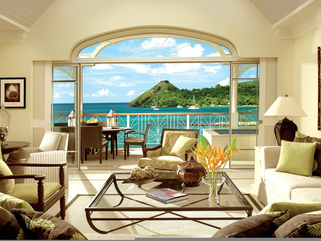 The Landings Hotel & Spa / St. Lucia