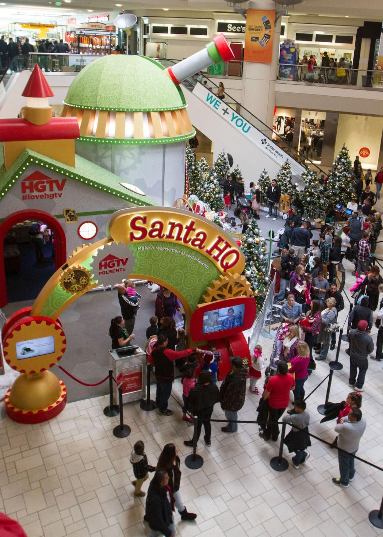 Vintage Faire Mall Christmas
