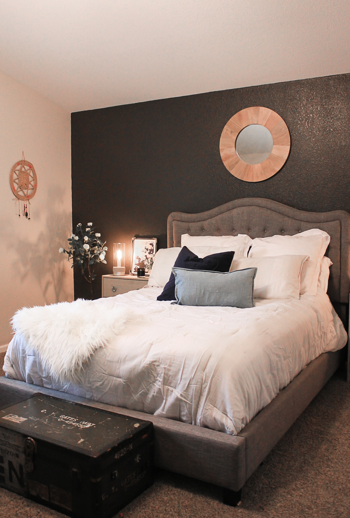 Master Bedroom Accent Wall Ideas The Naptime Reviewer