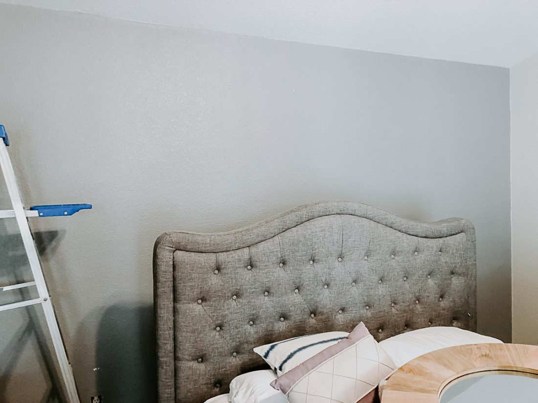 Updating a Master Bedroom Accent Wall