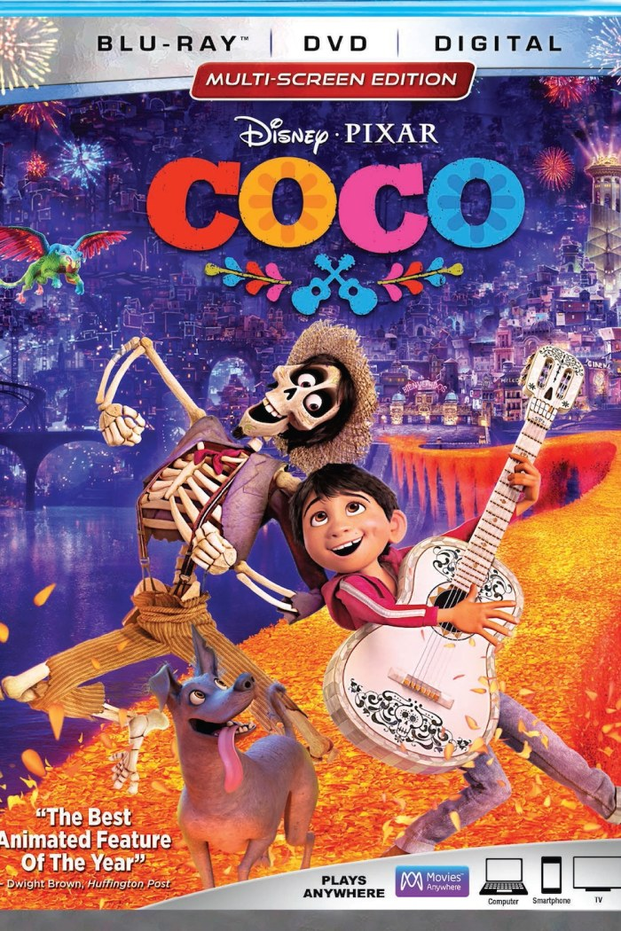 Disney Pixar COCO Review and Giveaway