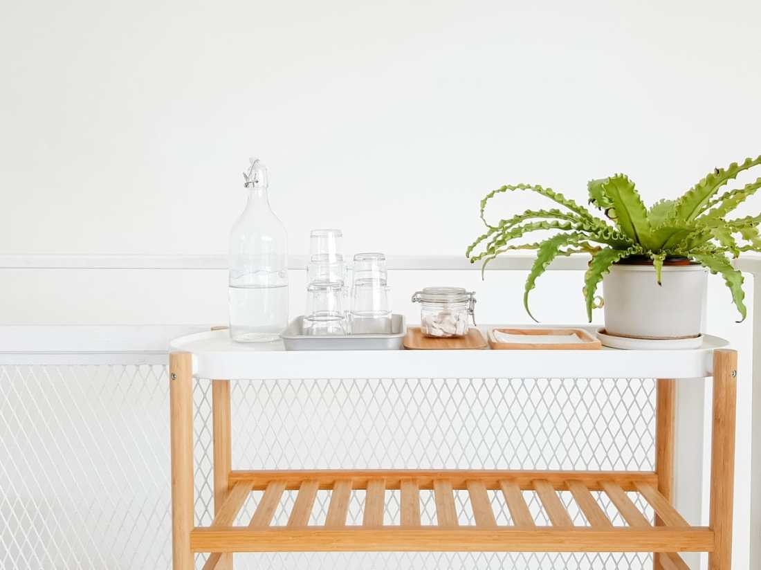 Clean & Tidy Bar Cart