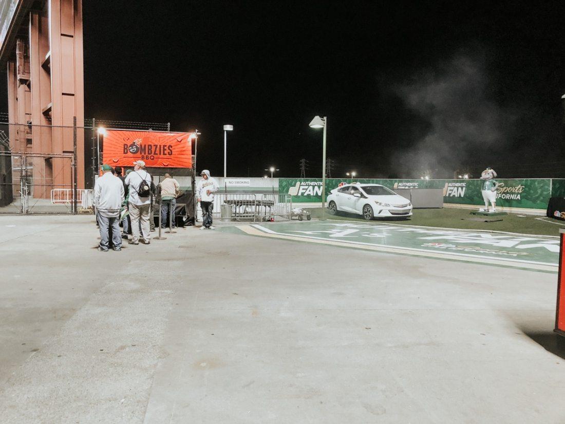 Oakdland A's Championship Plaza