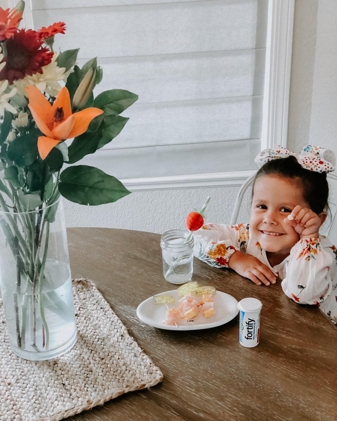 Kids probiotics + snack ideas