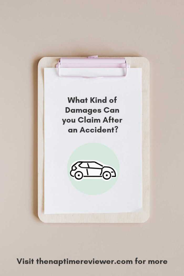 What Kind of Damages Can you Claim After an Accident?