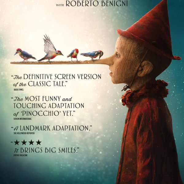 Watch the New Pinocchio Trailer – In Theaters December 25th, 2020.