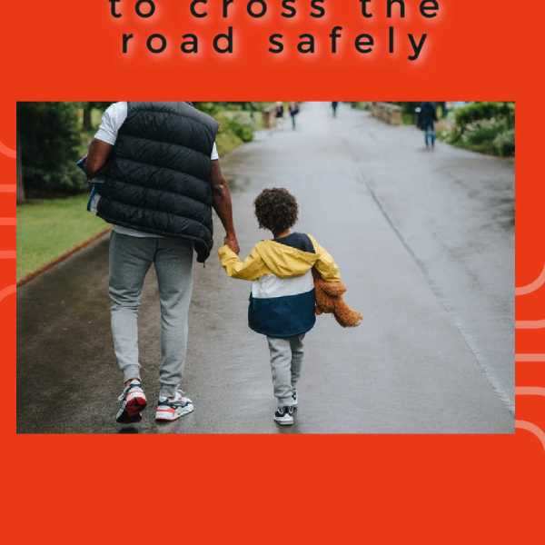 How to teach your toddler to cross the road safely