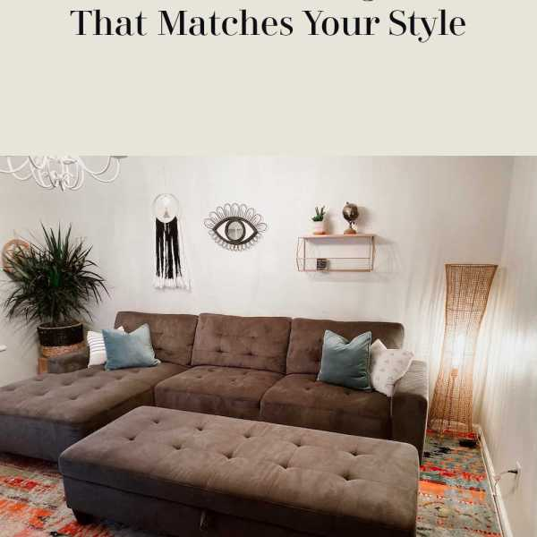A Guide to Choosing a Sofa That Matches Your Style
