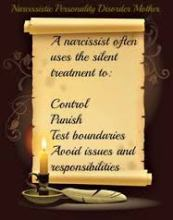 Narcissist Abuse & the Deafening Sound of Silence