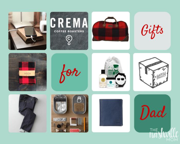 Nashville Gift Guide for dads