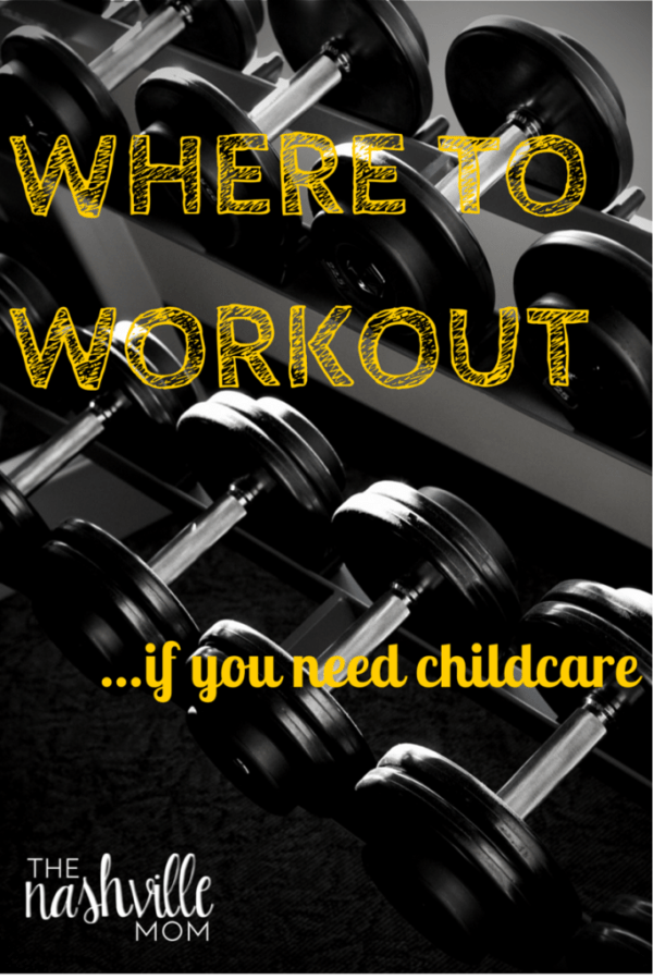 Where to workout in Nashville with kids