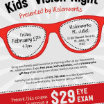 Kids' Vision Night at Visionworks