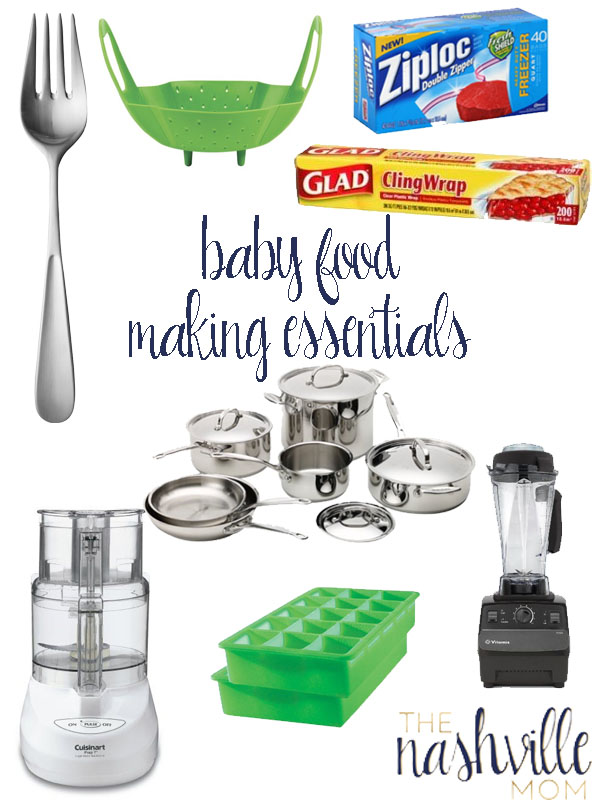 Baby Food Making Tools