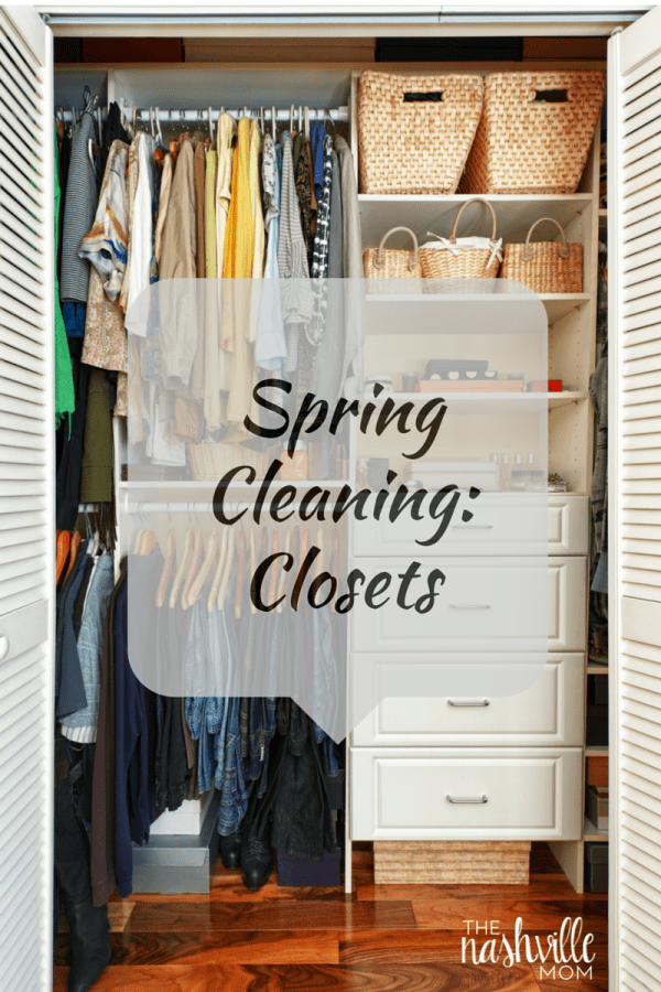 Spring Cleaning: Closets