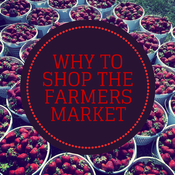 why to shop at your local farmers market
