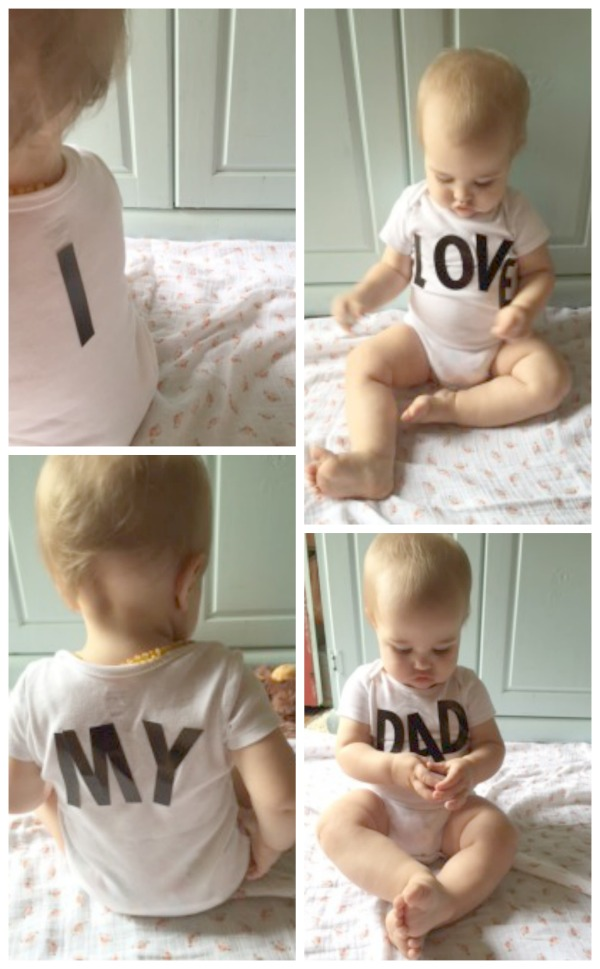 Simple Father's Day Photo Craft