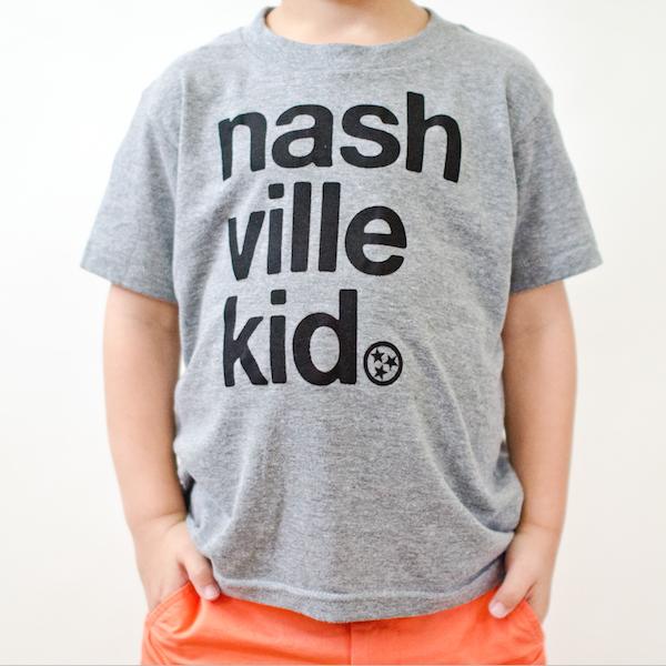 Nashville-made toddler tees: Nashville Kid Tee