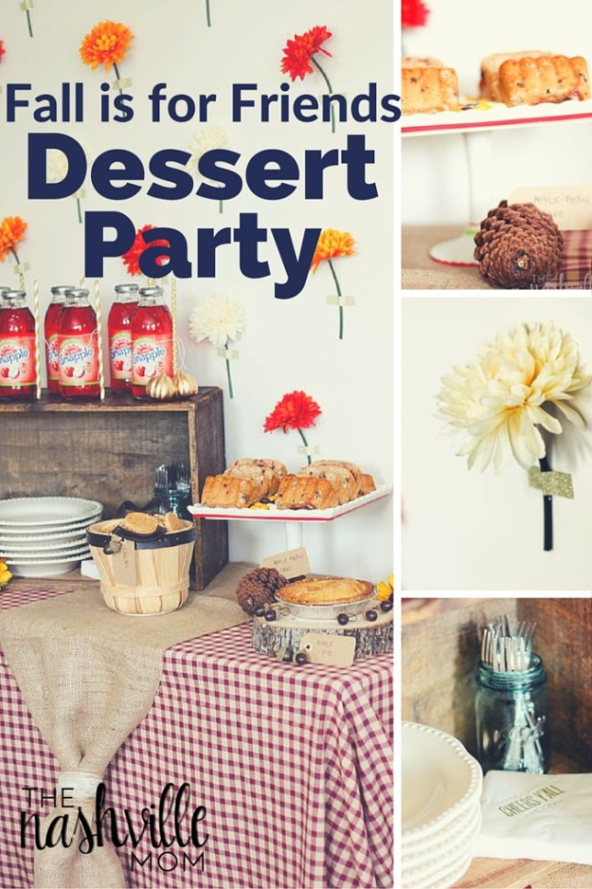 Fall is for Friends Dessert Party