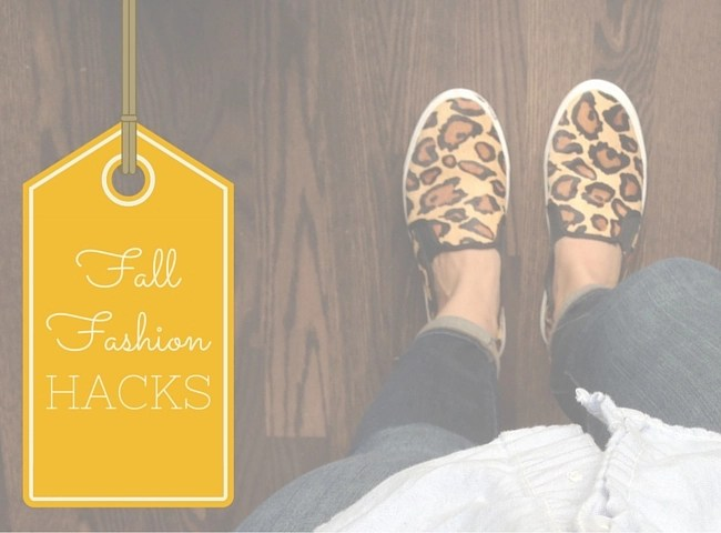 Mom's Fall Fashion Hacks