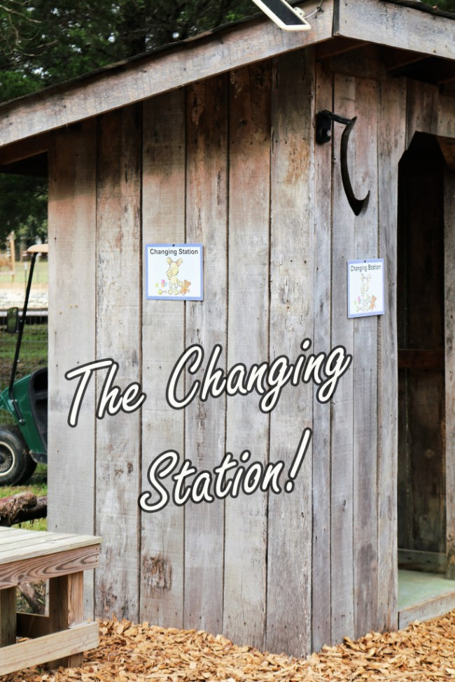 the changing station