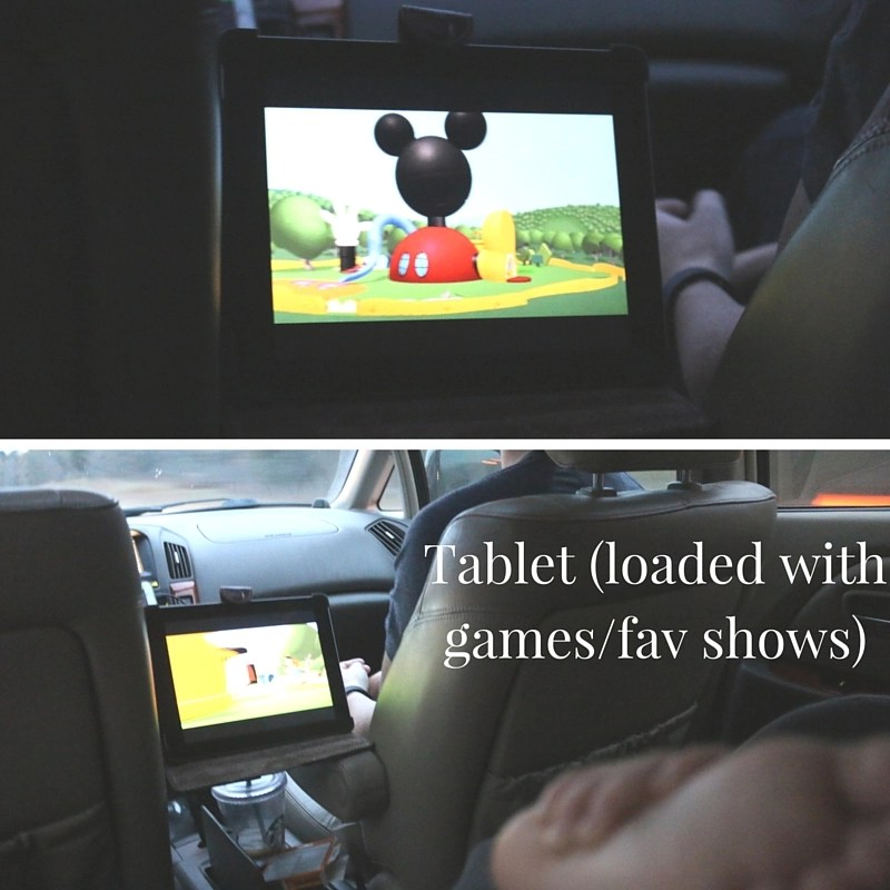 tablet with kids games and shows