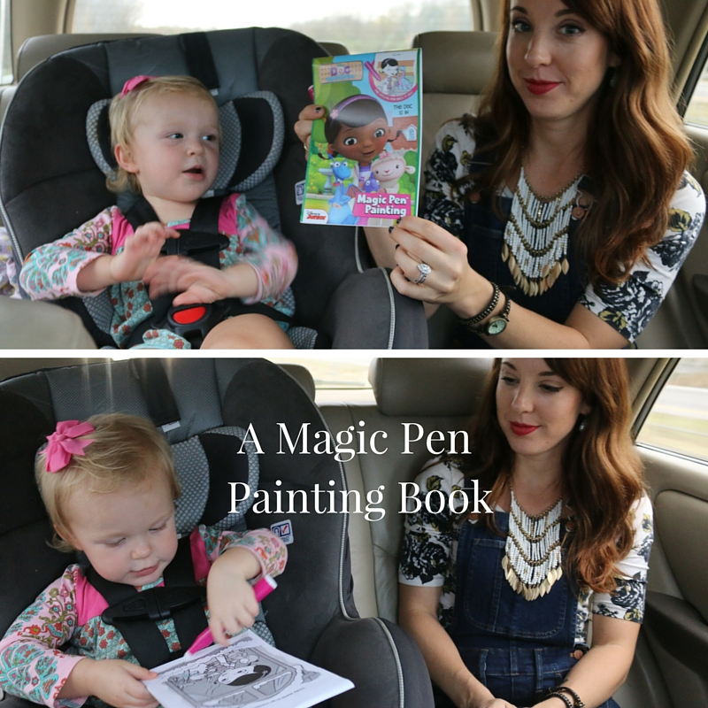 magic pen painting book for traveling