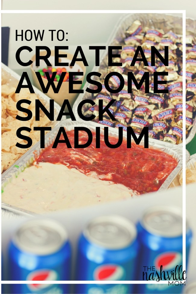 How to: Create an awesome snack stadium