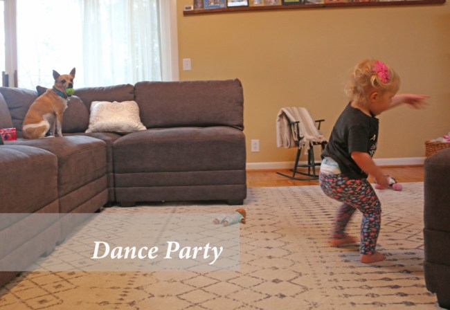 10 indoor play ideas: family dance party
