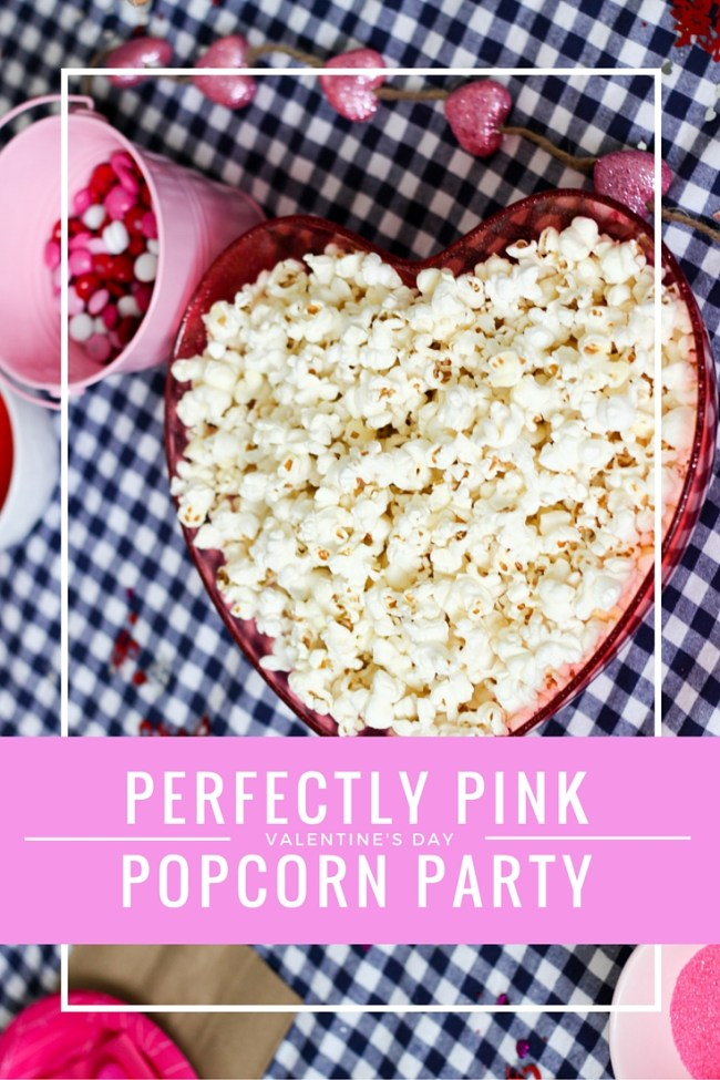 Perfectly Pink Popcorn Party