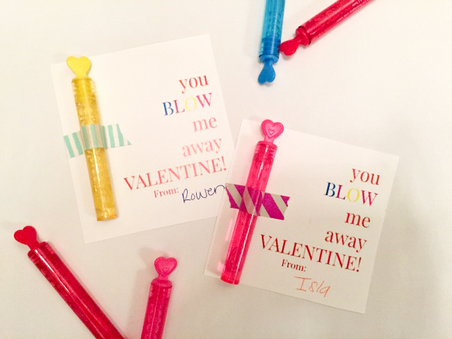 DIY Classroom Valentine's with printables!
