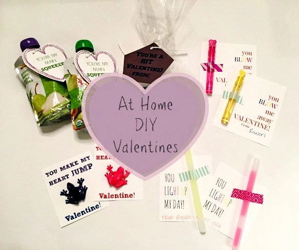 At Home DIY Classroom Valentines